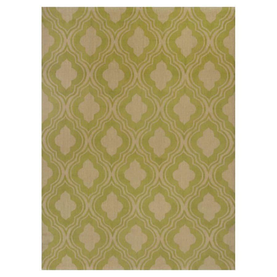 KAS Rugs Natures Best Rectangular Indoor Woven Throw Rug (Common: 3 x 5; Actual: 39-in W x 63-in L)
