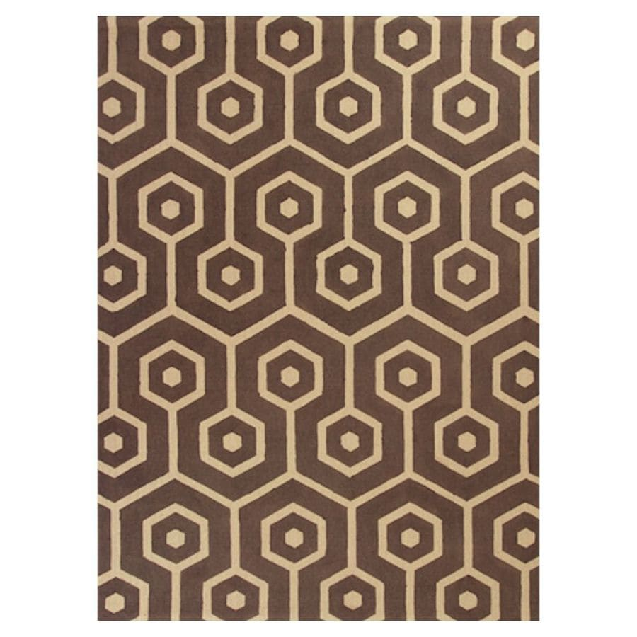 KAS Rugs Natures Best Rectangular Indoor Woven Area Rug (Common: 7 x 10; Actual: 78-in W x 114-in L)
