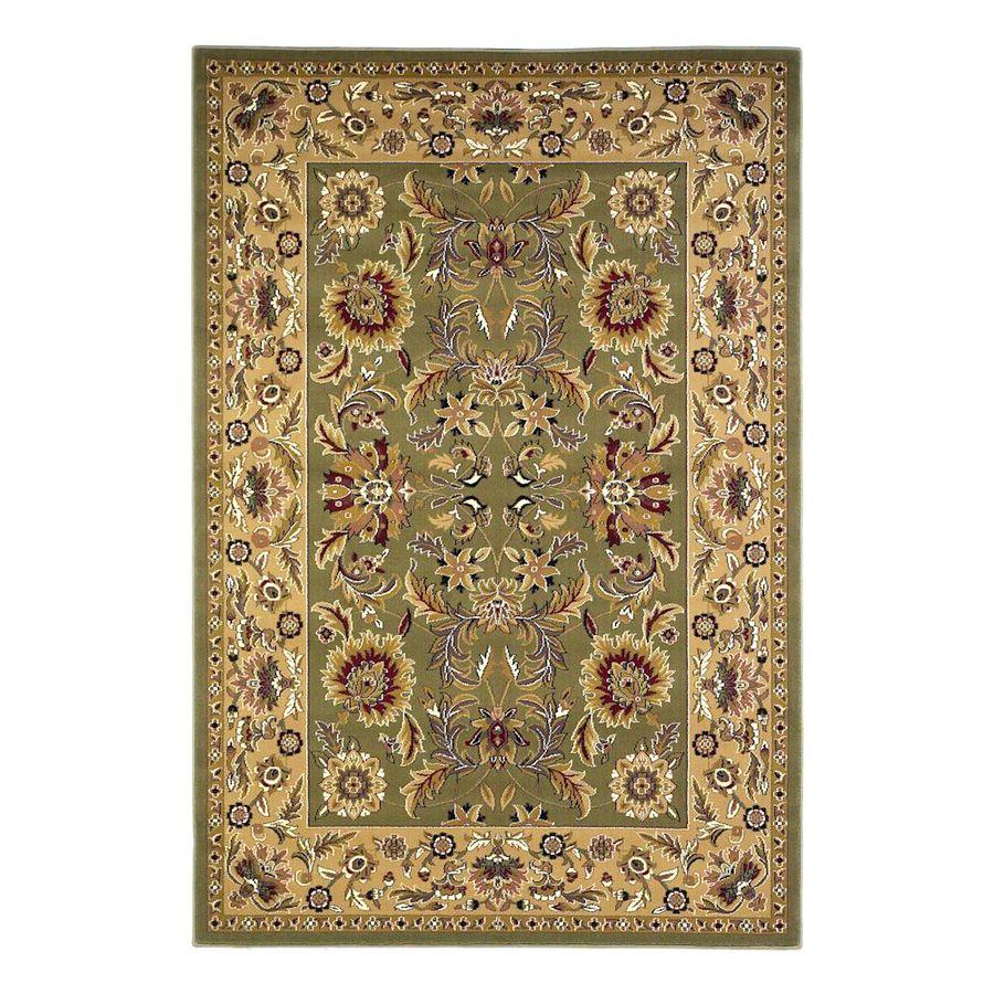 KAS Rugs Kashan Multicolor Rectangular Indoor Woven Oriental Area Rug (Common: 10 x 13; Actual: 118-in W x 146-in L x 0-ft Dia)