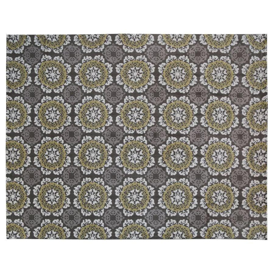 KAS Rugs Millbridge Rectangular Indoor Woven Area Rug (Common: 8 x 10; Actual: 90-in W x 114-in L)