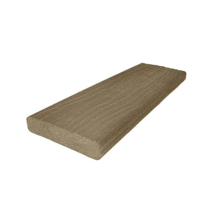 MoistureShield Vantage Earthtone Composite Deck Board (Actual: 1.5-in x 3.5-in x 16-ft)