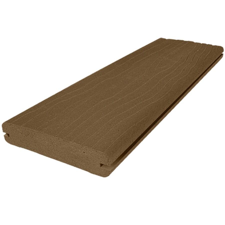 MoistureShield Vantage Bridle Groove Composite Deck Board (Actual: 1-in x 5.4-in x 12-ft)