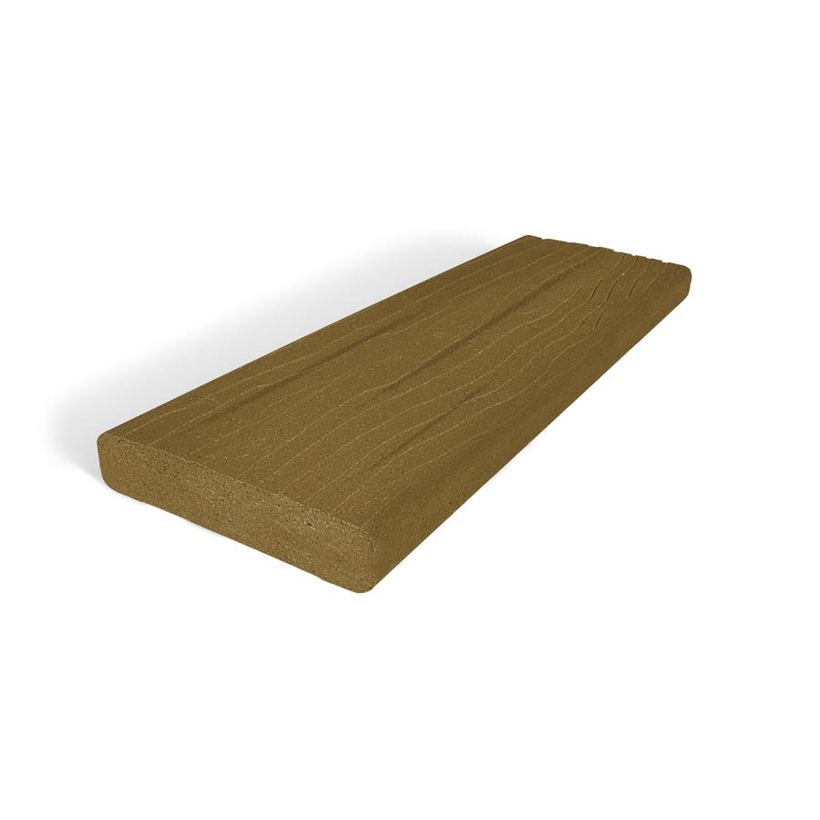 MoistureShield Vantage Tigerwood Composite Deck Board (Actual: 1.5-in x 5.5-in x 12-ft)