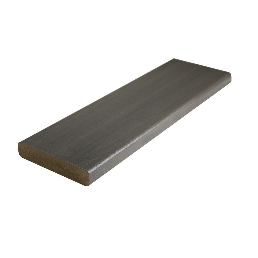 MoistureShield Graystone Composite Deck Board (Actual: 1-in x 5.4-in x 20-ft)