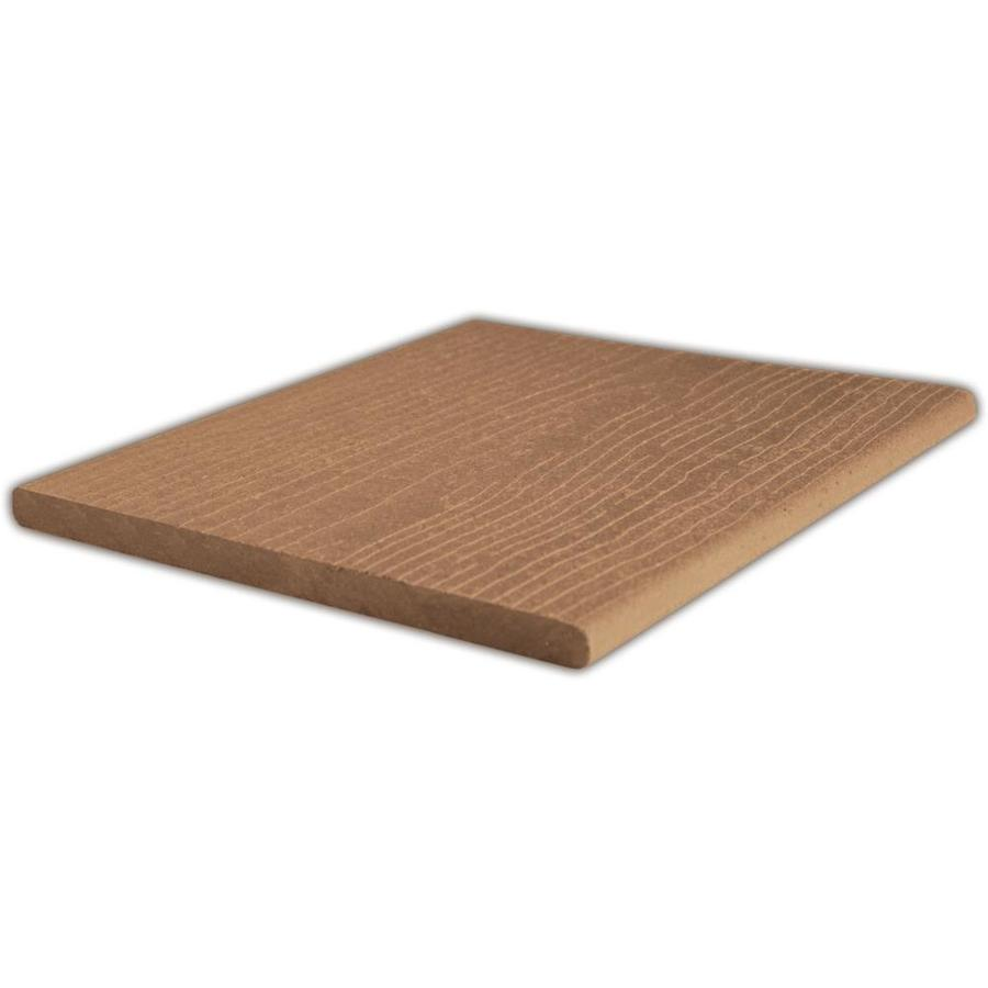 ChoiceDek Foundations Harvest Brown Composite Deck Board (Actual: 0.67-in x 11.25-in x 12-ft)