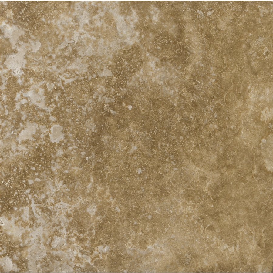 Emser 24-in x 24-in Noce Classic Premium Filled and Honed Natural Travertine Wall and Floor Tile