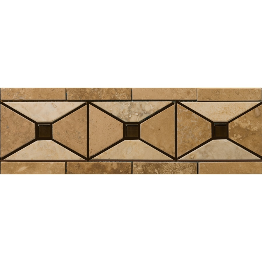 Emser 4-in x 12-in Faloria Natural Travertine Floor Tile