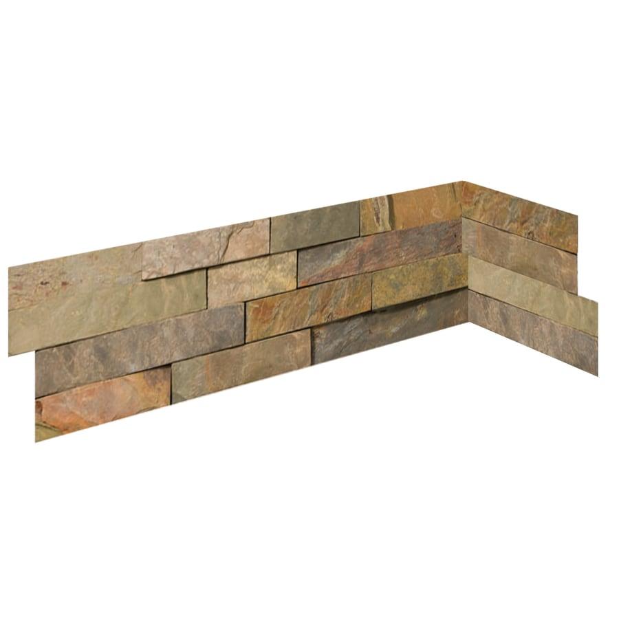 Emser 6-in x 27-in Golden Sand Natural Slate Wall Tile