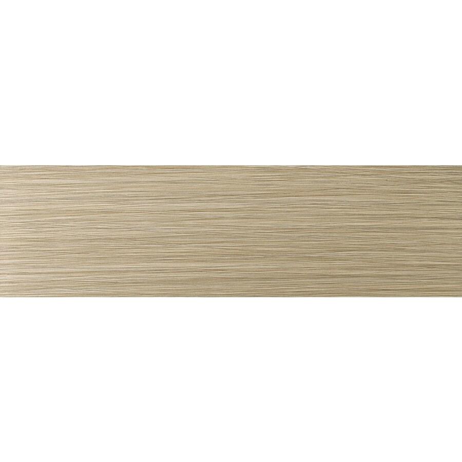 Emser Strands Olive Thru Body Porcelain Bullnose Tile (Common: 3-in x 12-in; Actual: 2.87-in x 11.73-in)