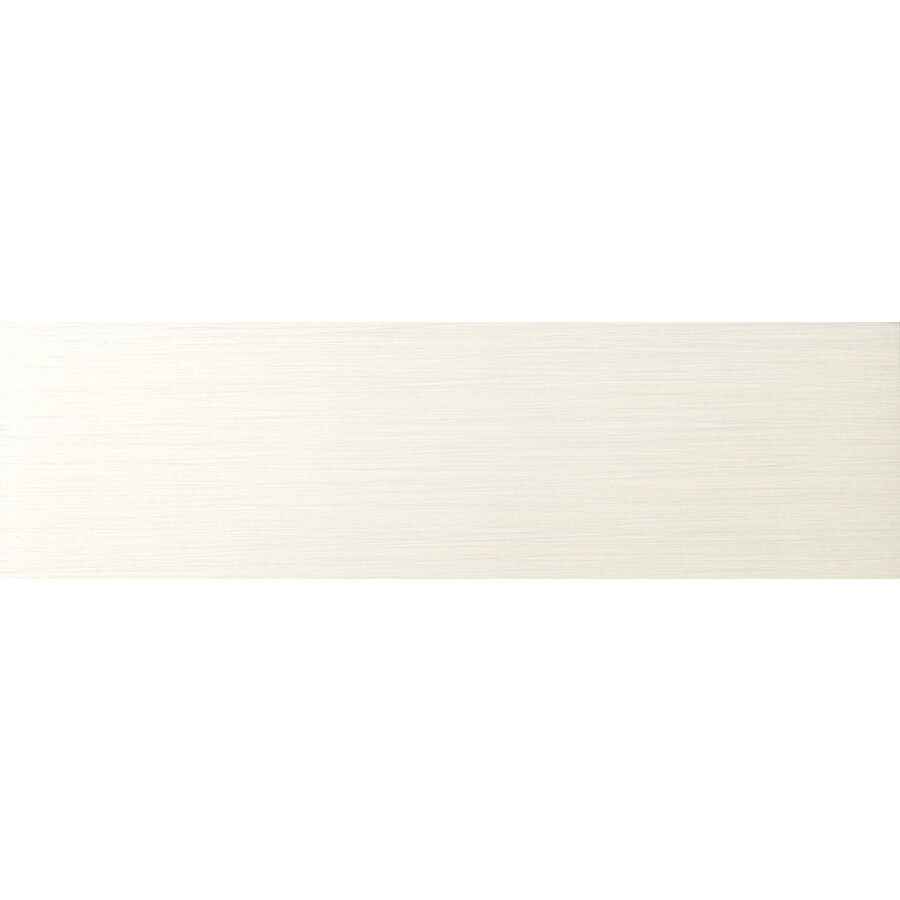Emser Strands Pearl Thru Body Porcelain Bullnose Tile (Common: 3-in x 12-in; Actual: 2.87-in x 11.73-in)