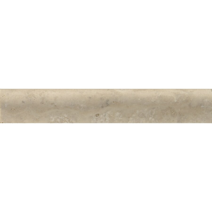 Emser 2-in x 12-in Vino Tumbled Natural Travertine Wall Tile
