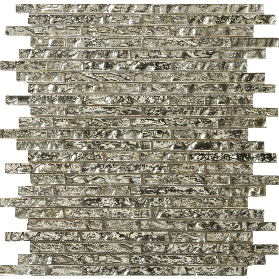 Emser Vista Balbi Glass Wall Tile (Common: 12-in x 12-in; Actual: 13.14-in x 13.38-in)