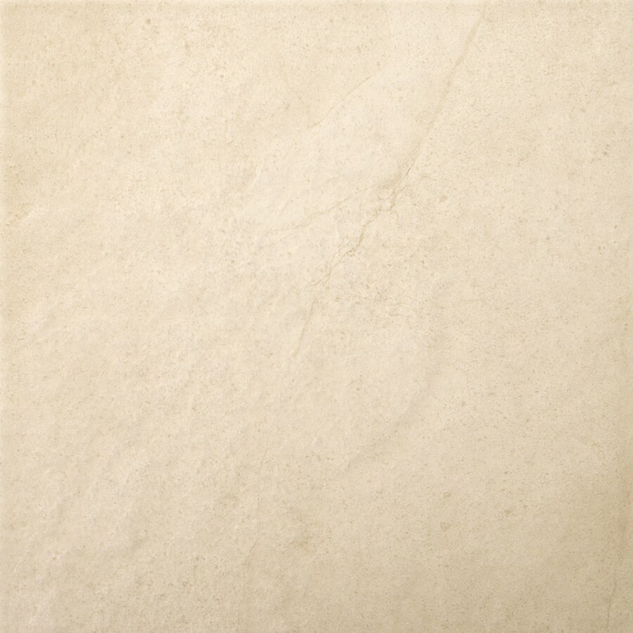 Emser St Moritz 11-Pack Ivory Porcelain Floor and Wall Tile (Common: 12-in x 12-in; Actual: 11.77-in x 11.77-in)