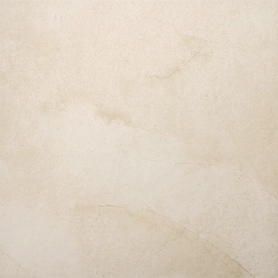 Emser St Moritz 7-Pack Cream Porcelain Floor and Wall Tile (Common: 18-in x 18-in; Actual: 17.84-in x 17.84-in)
