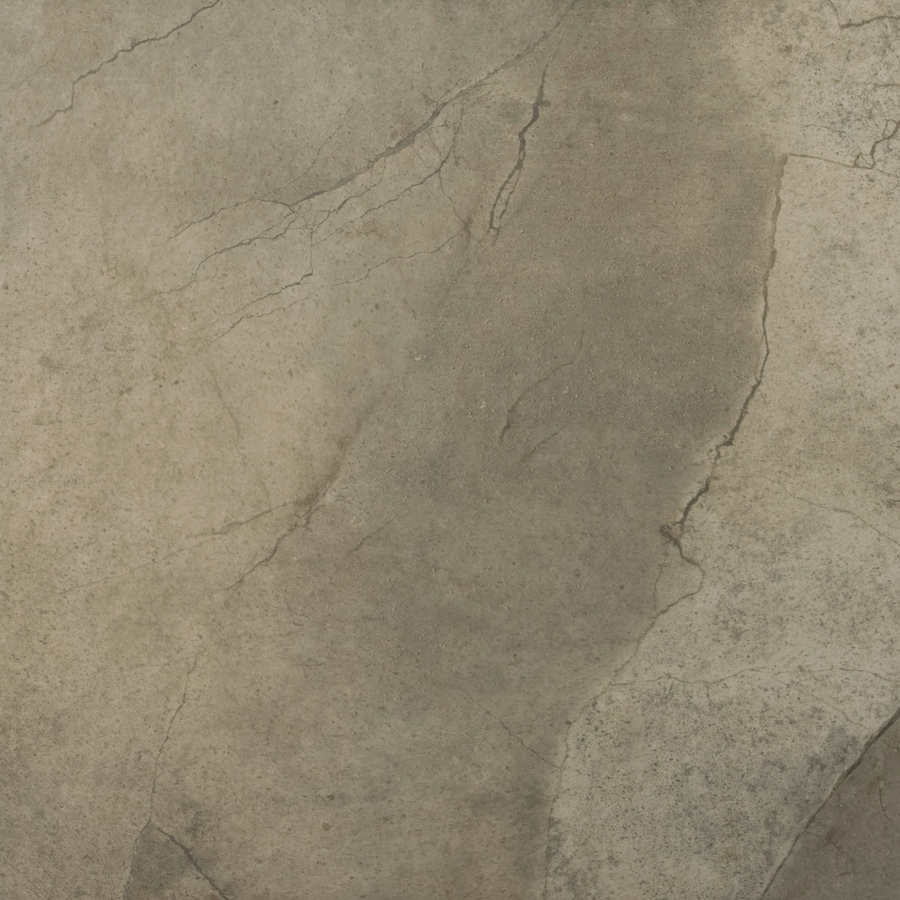 Emser St Moritz 7-Pack Olive Porcelain Floor and Wall Tile (Common: 18-in x 18-in; Actual: 17.84-in x 17.84-in)