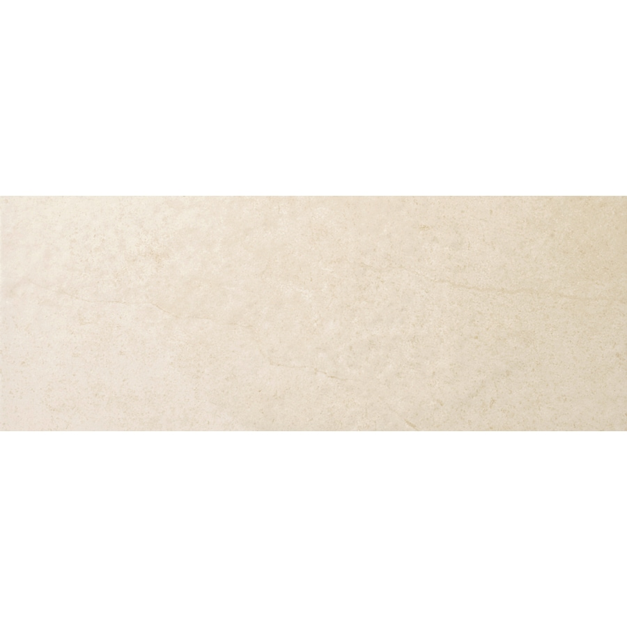 Emser St Moritz Cream Porcelain Bullnose Tile (Common: 3-in x 12-in; Actual: 2.87-in x 11.77-in)