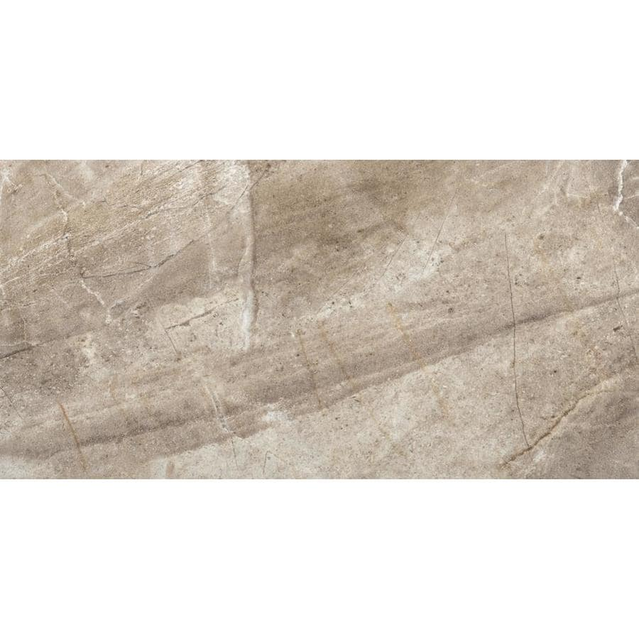 Emser Eurasia 6-Pack Cafe Porcelain Floor and Wall Tile (Common: 12-in x 24-in; Actual: 11.79-in x 23.79-in)