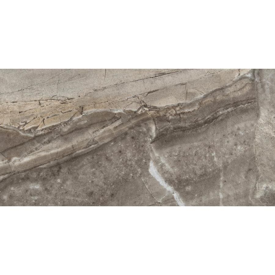 Emser Eurasia 6-Pack Grigio Porcelain Floor and Wall Tile (Common: 12-in x 24-in; Actual: 11.79-in x 23.79-in)