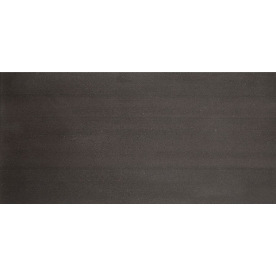 Emser Perspective 8-Pack Black Porcelain Floor and Wall Tile (Common: 12-in x 24-in; Actual: 11.79-in x 23.79-in)