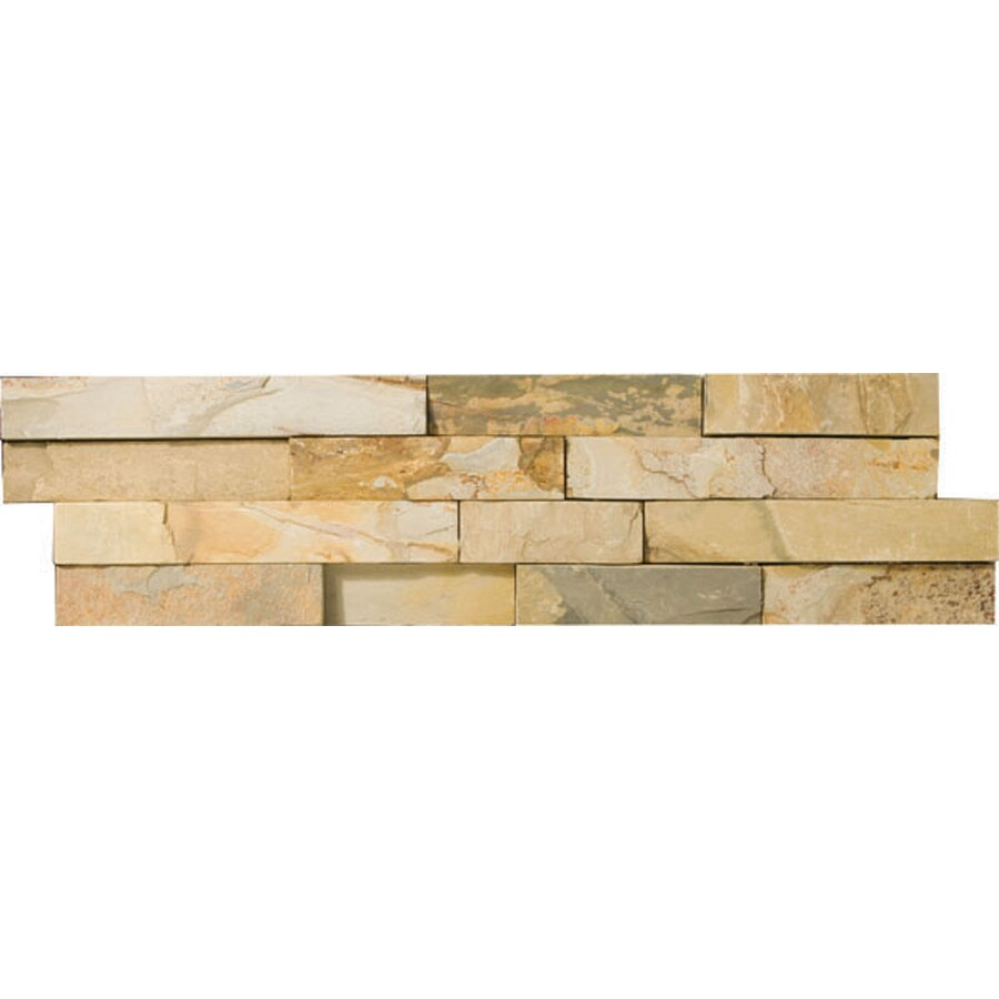 Emser 4-Pack Autumn Lilac Slate Floor and Wall Tile (Common: 6-in x 24-in; Actual: 6-in x 24-in)