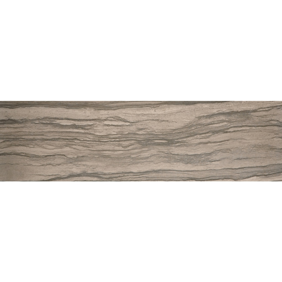 Emser Motion Signal Porcelain Bullnose Tile (Common: 3-in x 13-in; Actual: 3.15-in x 12.99-in)