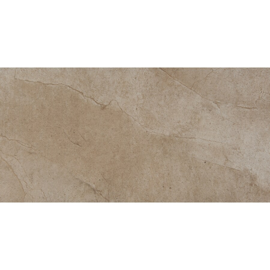 Emser St Moritz 6-Pack Cotton Porcelain Floor and Wall Tile (Common: 12-in x 24-in; Actual: 11.75-in x 23.75-in)