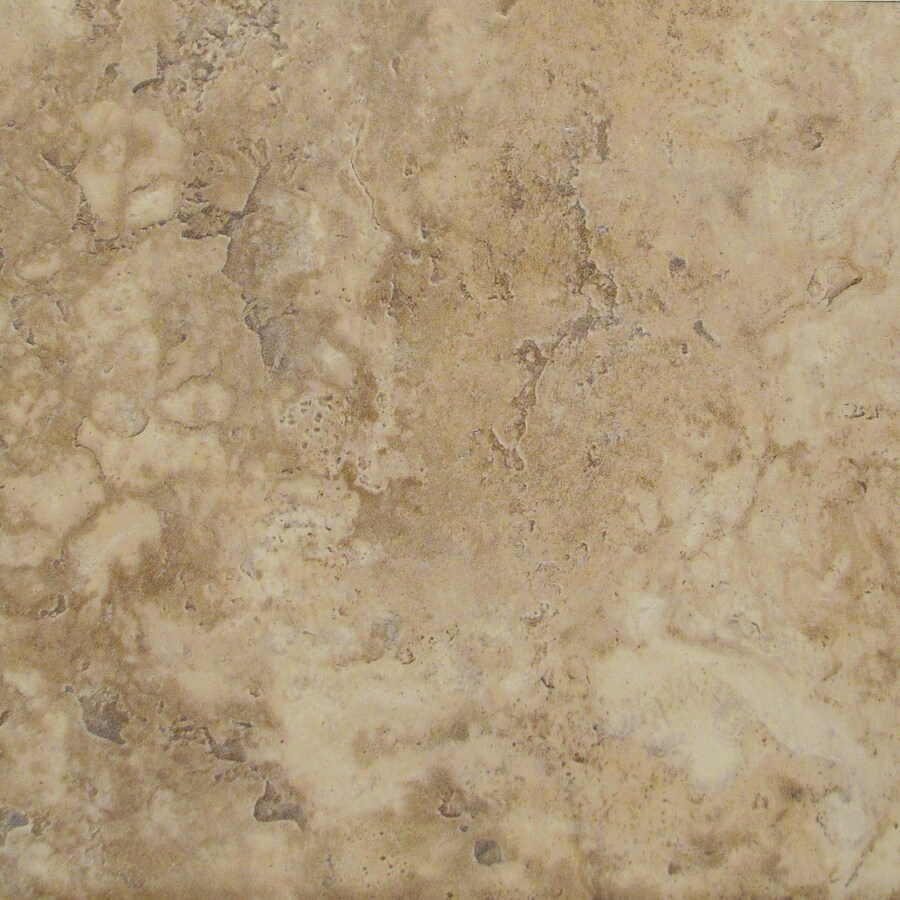 Emser 20-in x 20-in Timeless Beauty Glazed/Warm Browns Glazed Porcelain Floor Tile (Actuals 20-in x 20-in)
