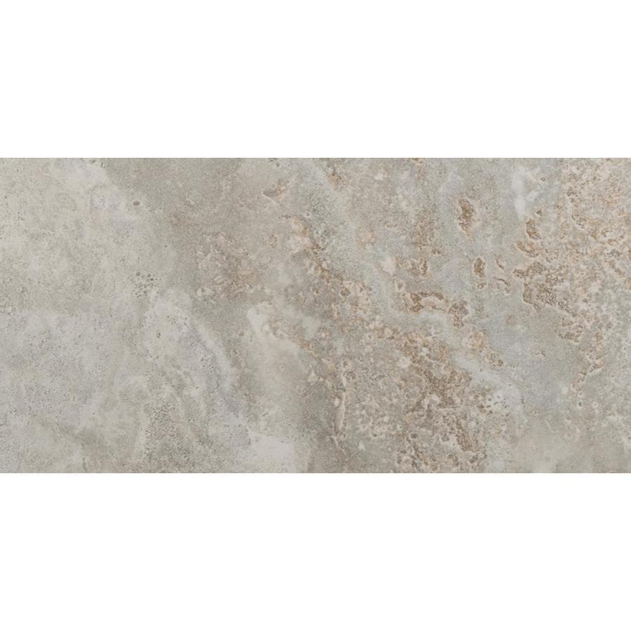 Emser Lucerne 8-Pack Matterhorn Porcelain Floor and Wall Tile (Common: 12-in x 24-in; Actual: 11.79-in x 23.79-in)