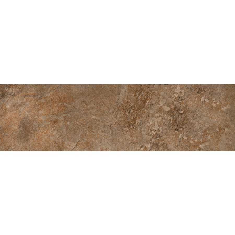 Emser Bombay Satara Porcelain Bullnose Tile (Common: 3-in x 13-in; Actual: 2.95-in x 12.99-in)