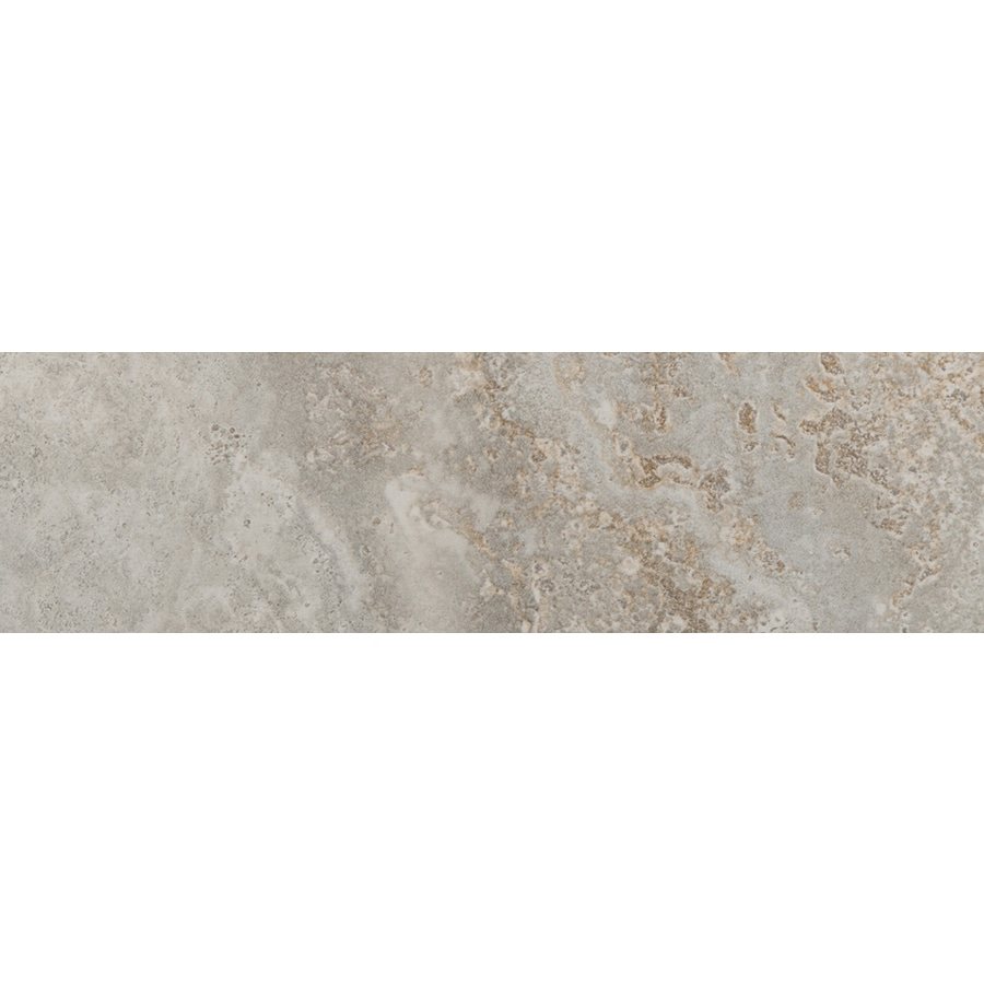 Emser Lucerne Matterhorn Porcelain Bullnose Tile (Common: 3-in x 13-in; Actual: 3.17-in x 12.99-in)