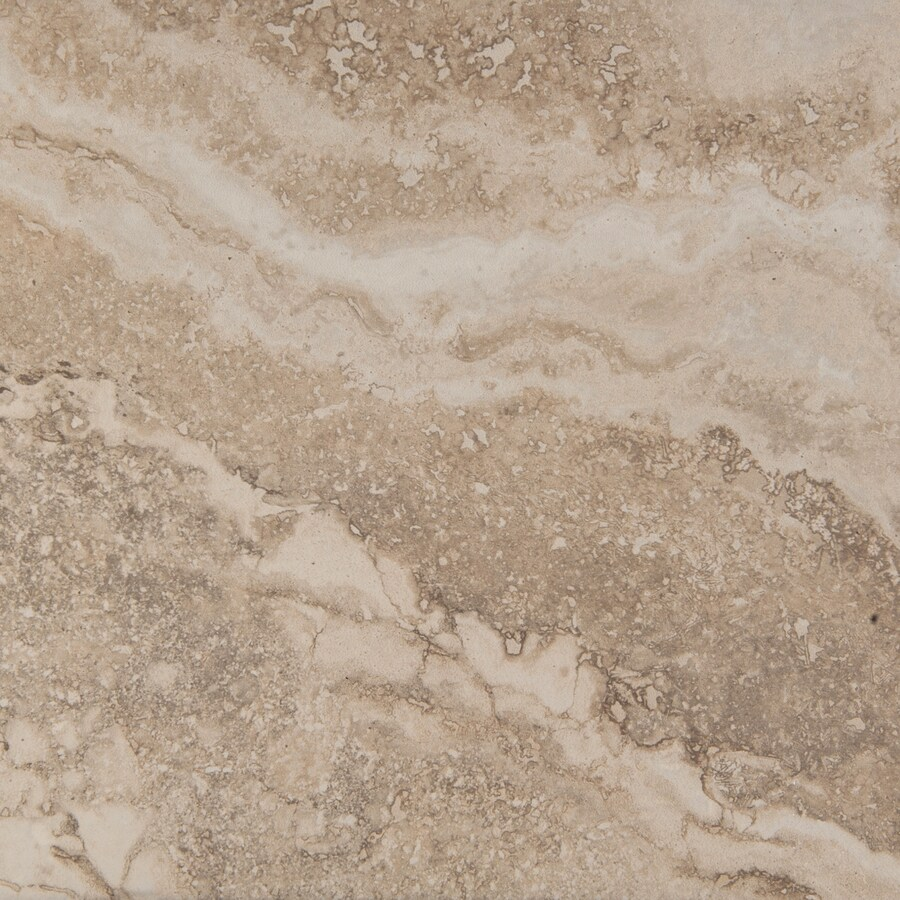 Emser Homestead 7-Pack Cream Porcelain Floor and Wall Tile (Common: 18-in x 18-in; Actual: 17.73-in x 17.73-in)
