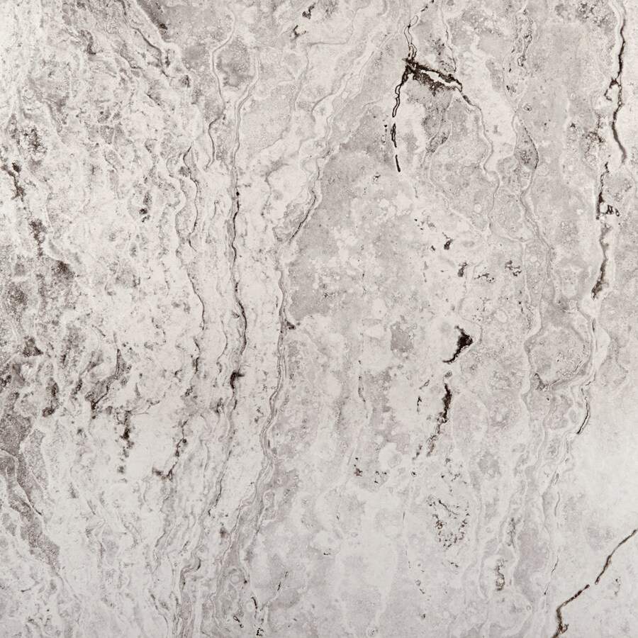 Emser Pergamo 15-Pack Bianco Porcelain Floor and Wall Tile (Common: 13-in x 13-in; Actual: 13.11-in x 13.11-in)