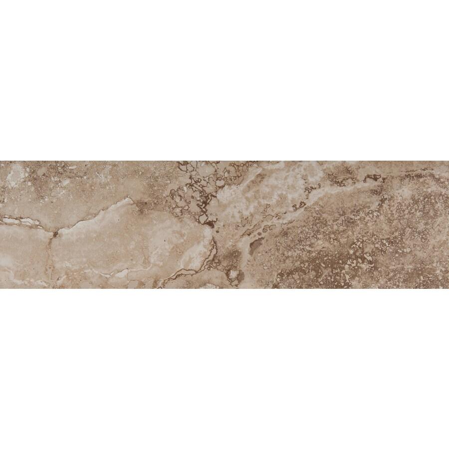 Emser Homestead Beige Porcelain Bullnose Tile (Common: 3-in x 13-in; Actual: 2.95-in x 12.99-in)
