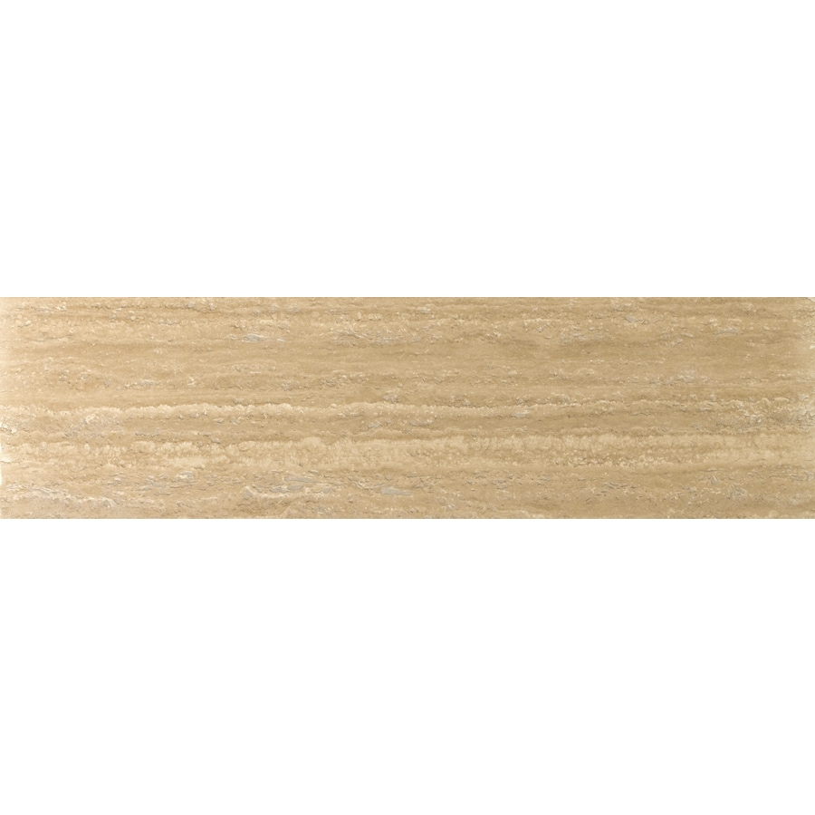 Emser Dore Select Travertine Floor and Wall Tile (Common: 6-in x 24-in; Actual: 6-in x 24-in)