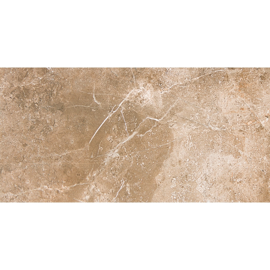 Shop Emser 8 Pack Region Ceramic Floor And Wall Tile Common 12 In X 24 In