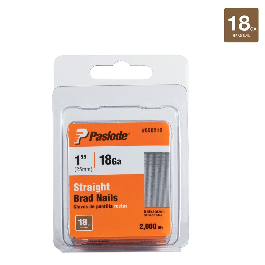 Paslode 2000-Count 1-in Finishing Pneumatic Nails