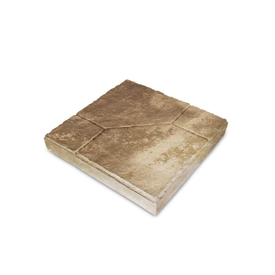 Sand Tan Empire Concrete Patio Stone (Common: 12-in x 12-in; Actual: 12-in x 12-in)