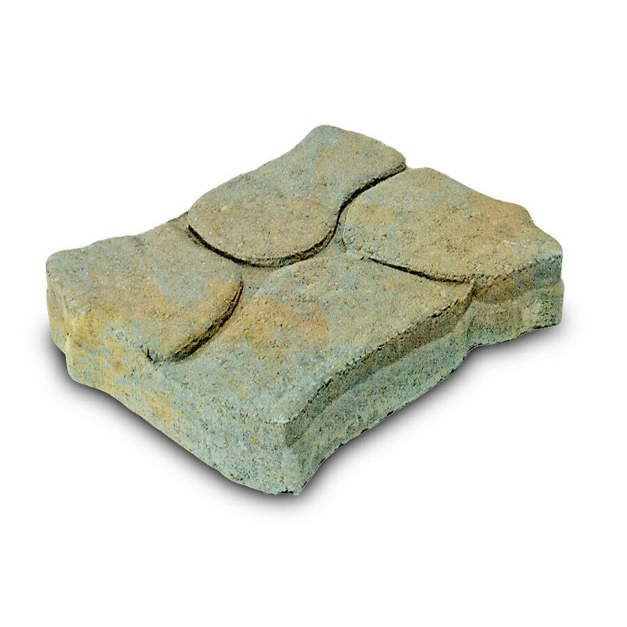 Keystone Grey Buff Alameda Concrete Patio Stone (Common: 11-in x 13-in; Actual: 11.1-in x 13.3-in)