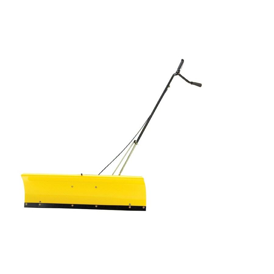 John Deere 46-in W x 13.5-in H Steel Snow Plow