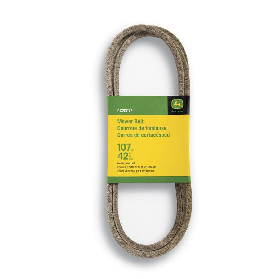 John Deere 42-in Deck/Drive Belt for Riding Lawn Mowers