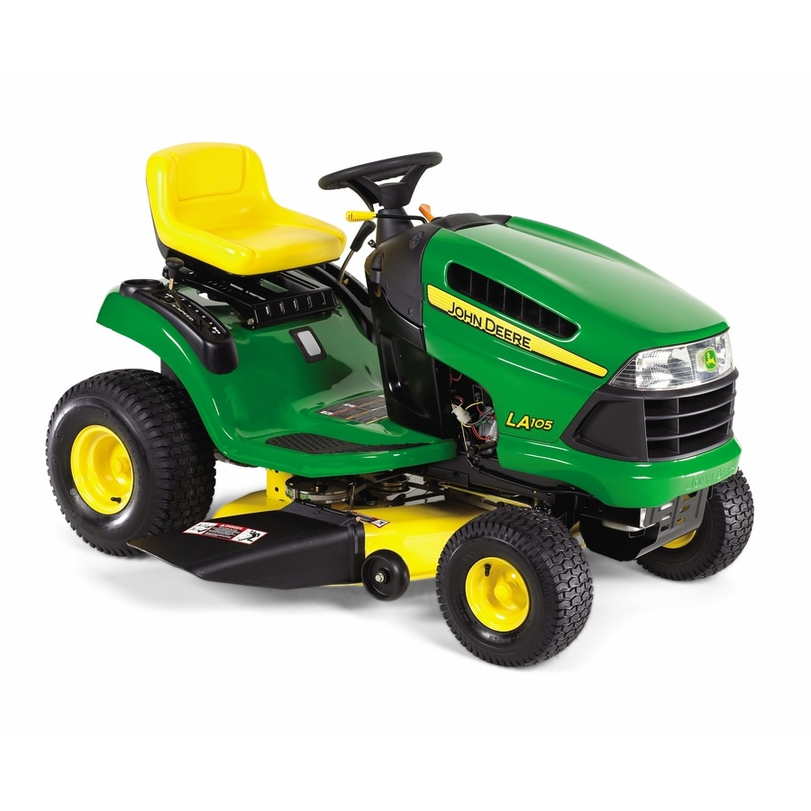 John Deere 19.5-HP Manual/Gear 42-in Riding Lawn Mower with Briggs & Stratton Engine