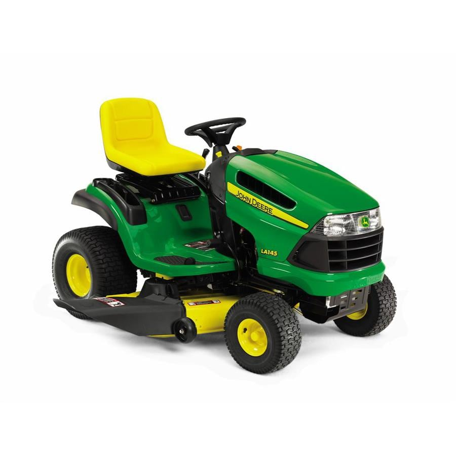 John Deere 22-HP V-Twin Hydrostatic 48-in Riding Lawn Mower with Briggs & Stratton Engine
