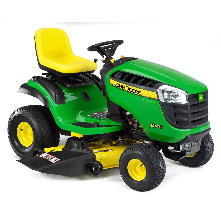 "John Deere D140 22-HP V-Twin Hydrostatic 48"" Riding Lawn Mower"