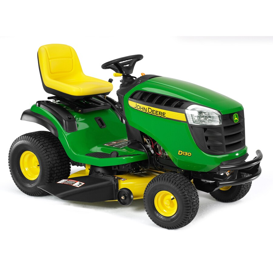John Deere D130 22-HP V-Twin Hydrostatic 42-in Riding Lawn Mower (CARB)