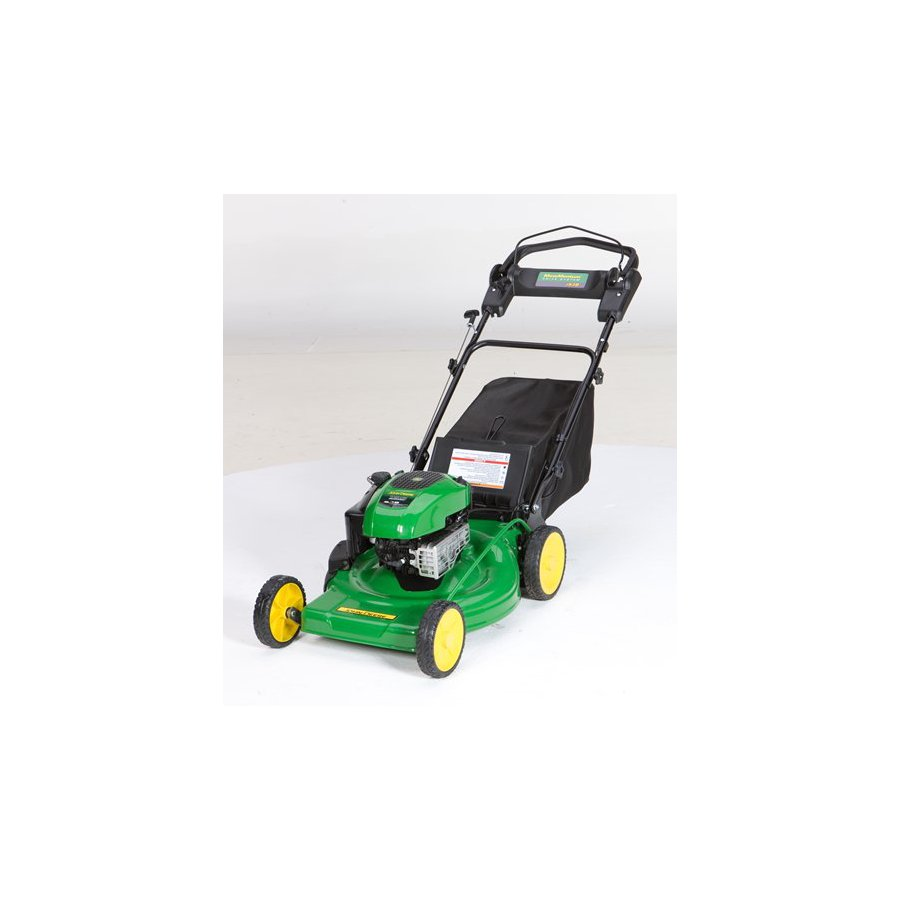 John Deere JS38 190-cc 22-in Self-Propelled Rear Wheel Drive 3-in-1 Gas Lawn Mower with Mulching Capability