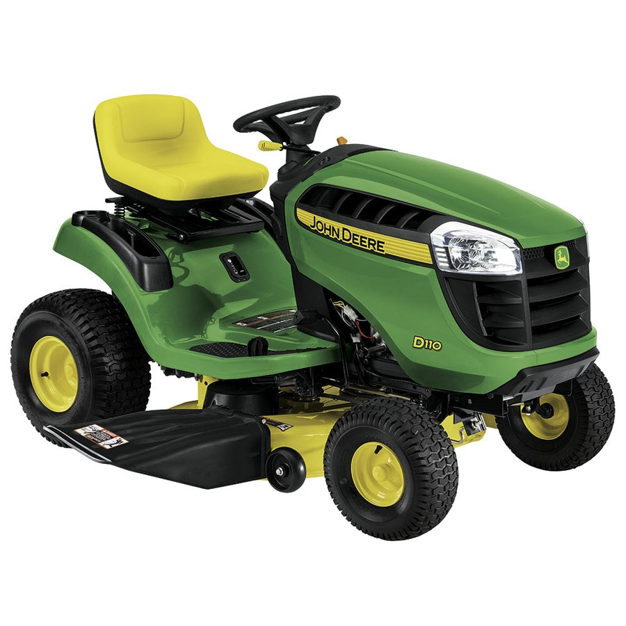 John Deere D110 Carb 19-HP Hydrostatic 42-in Riding Lawn Mower (CARB)