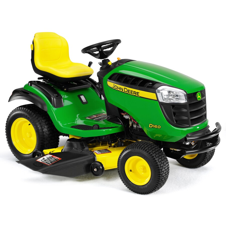 John Deere D160 25-HP V-Twin Hydrostatic 48-in Riding Lawn Mower with Briggs & Stratton Engine