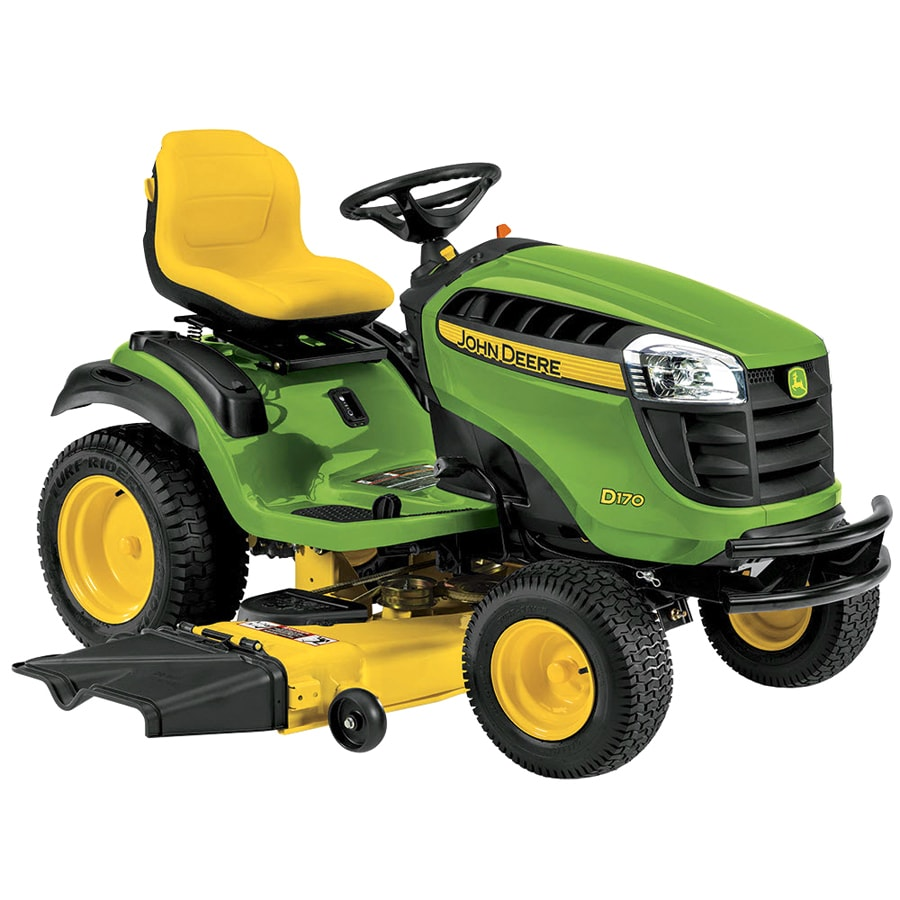 John Deere D170 25-HP V-Twin Hydrostatic 54-in Riding Lawn Mower