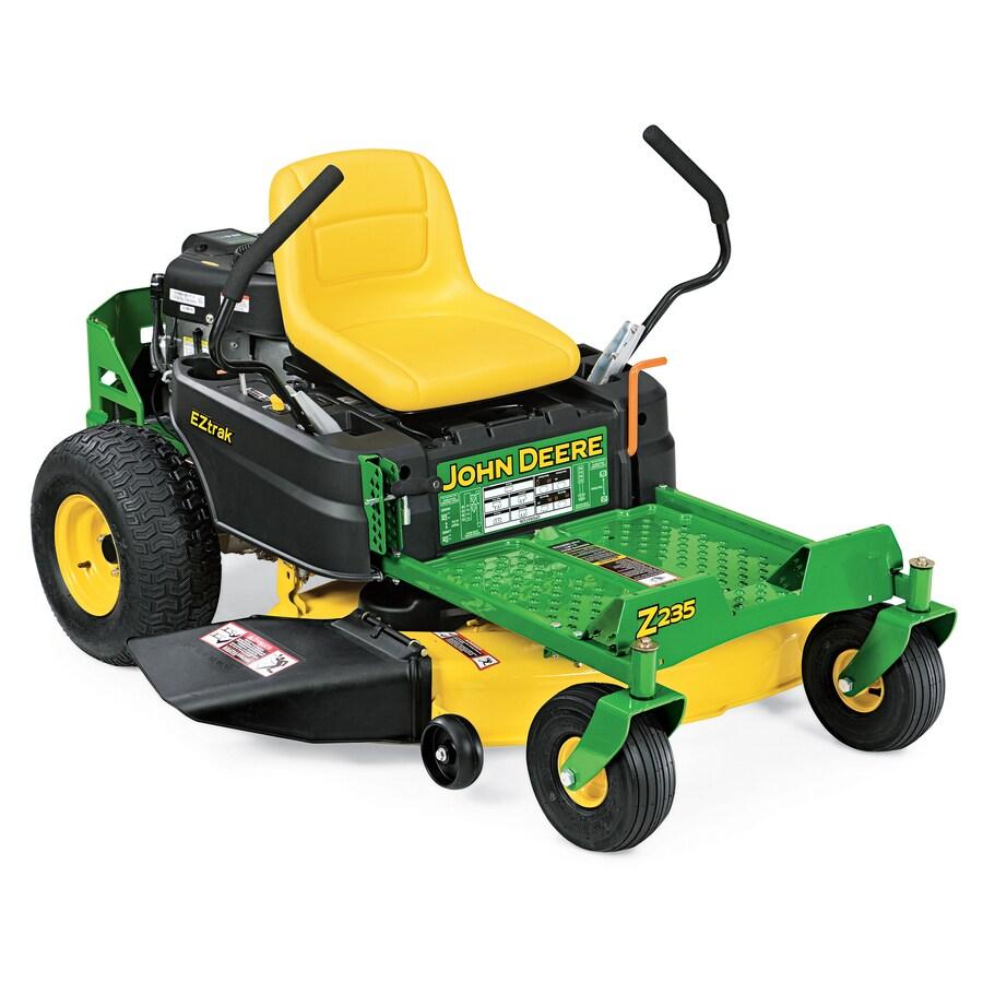 John Deere Z235 20-HP V-Twin Dual Hydrostatic 42-in Zero-Turn Lawn Mower