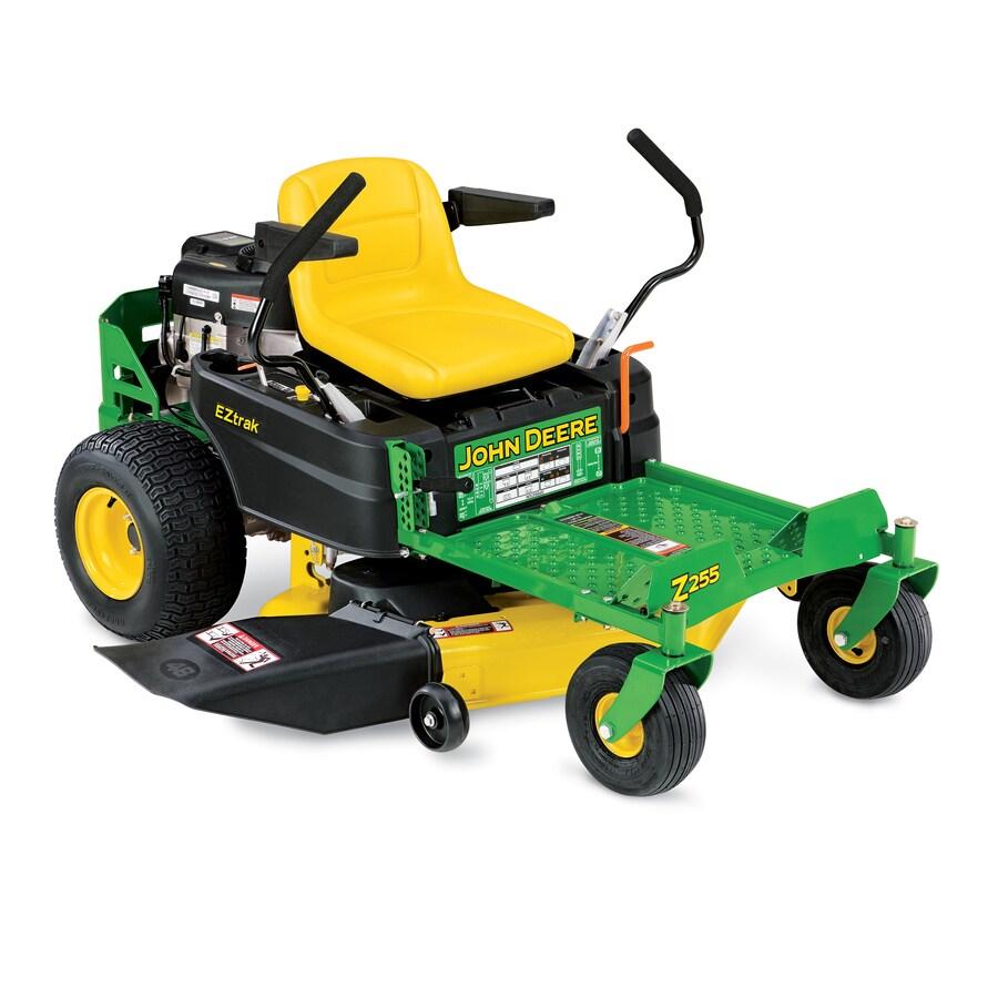 John Deere Z255 22-HP V-Twin Dual Hydrostatic 48-in Zero-Turn Lawn Mower